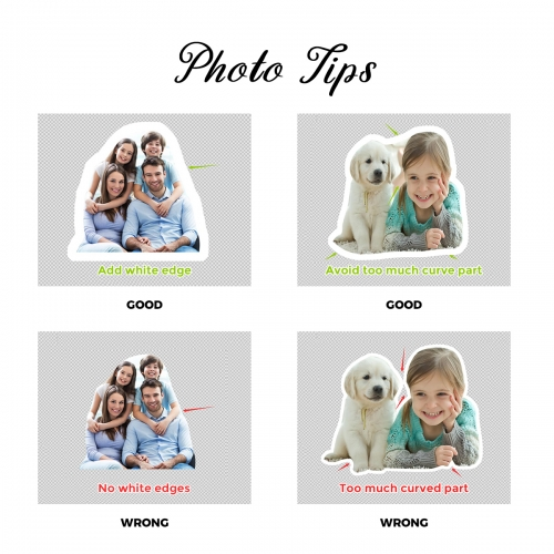 """Custom Pet Shaped Pillow (12"""")(Two Sided Printing)"""