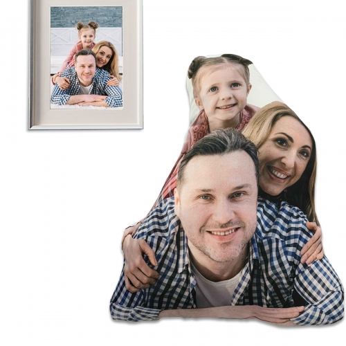 """Custom Pet Shaped Pillow (16"""")(Two-Sided Printing)"""