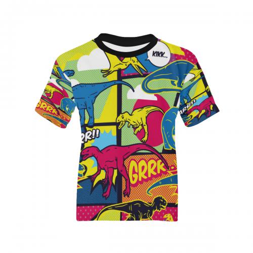 Kids' All Over Print T-shirt(ModelT65)