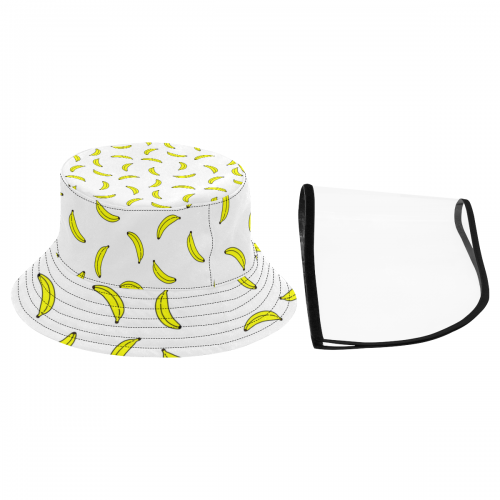 Women's Bucket Hat With Removable Protective Face Shield