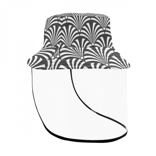 Men's Bucket Hat With Detachable Face Shield