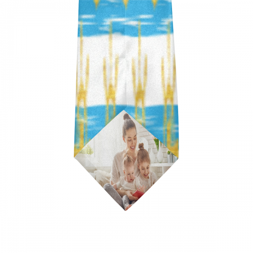 Custom Peekaboo Necktie with Your Hidden Photo