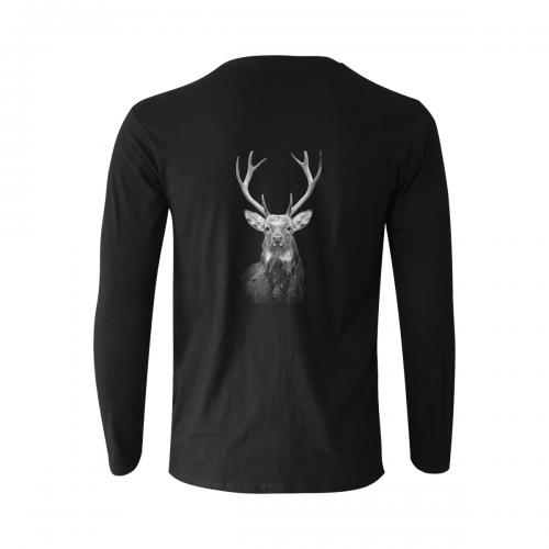 Gildan Men's Long Sleeve T-shirt(ModelT08)(Made In AUS)