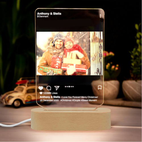 Personalized Photo 3D Lamp