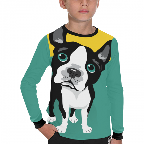 Kid's Long Sleeve T-shirt(ModelT51)