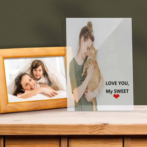 Acrylic Photo Panel(No Wooden Stand)