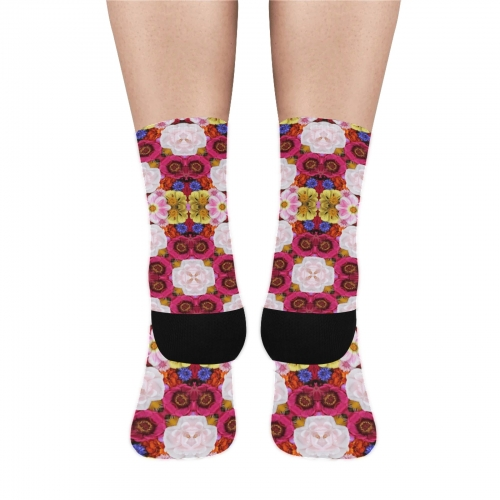 Sublimated Crew Socks(3 Packs)