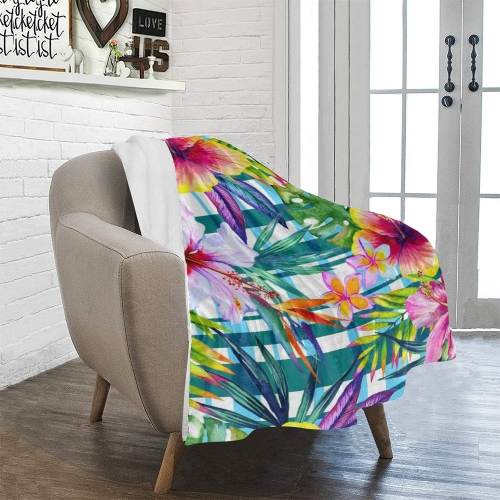 "Ultra-Soft Micro Fleece Blanket 30""x40""(Made In USA)"
