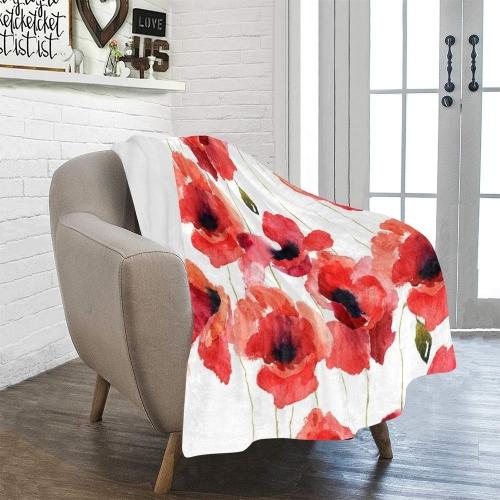"Ultra-Soft Micro Fleece Blanket 40"" x 50""(Made In USA)"