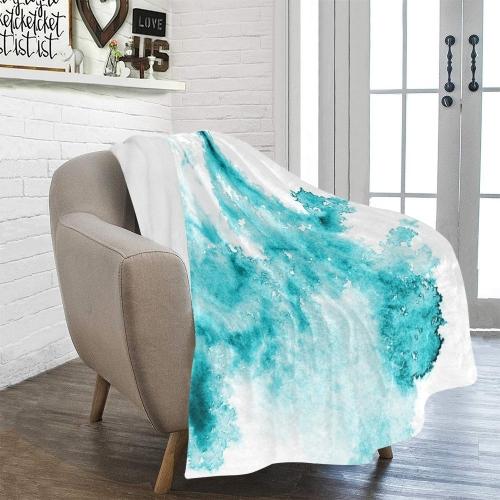 "Ultra-Soft Micro Fleece Blanket 50"" x 60""(Made In USA)"