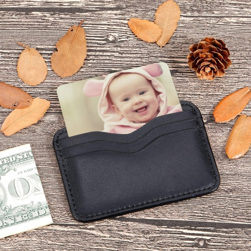 Personalized Wallet Insert Card (Two-Side Print)