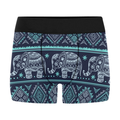 Men's All Over Print Boxer Briefs(ModelL10)(Made In USA)