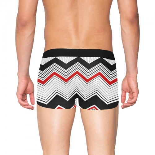 Men's Boxer Briefs with Fly (ModelL49)