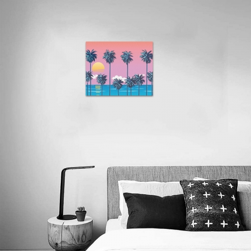 """Frame Canvas Print 10""""x8""""(Made in USA)"""