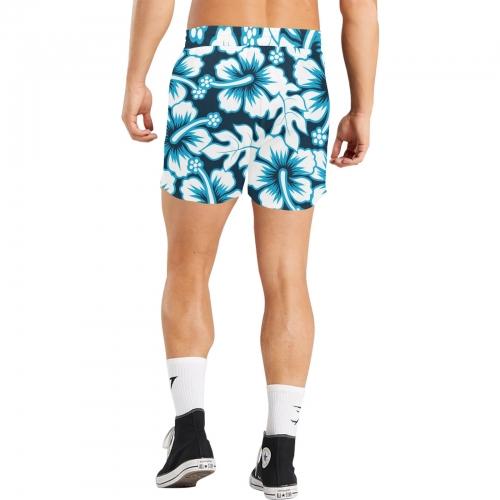 Men's Mid-Length Casual Shorts(ModelL50)