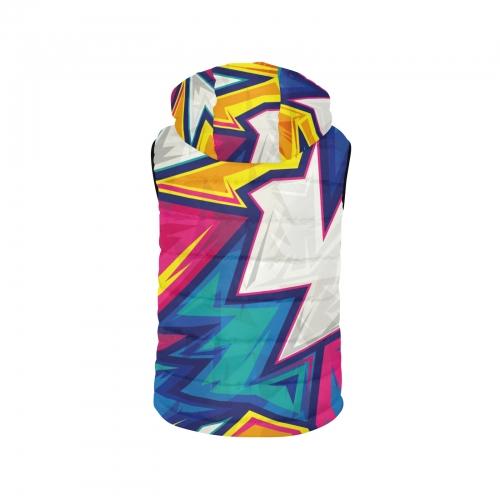 Kids' Hooded Padded Vest (ModelH47)