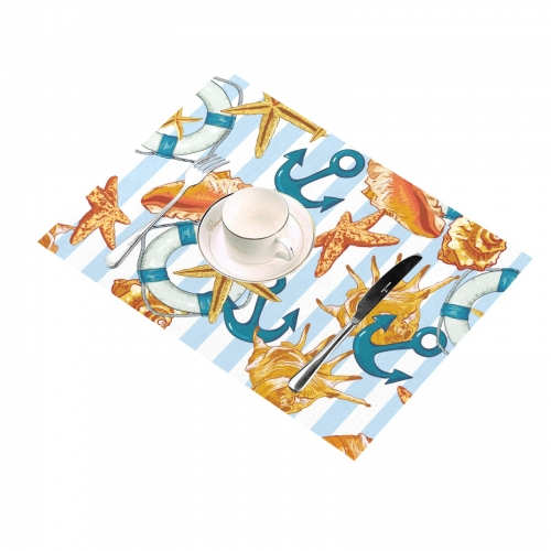 """Placemats 14"""" x 19""""(Set of 6)(Designs are Different)"""