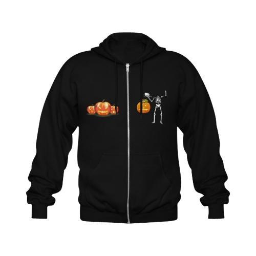 Classic Full Zip Hooded Sweatshirt (Model H02)