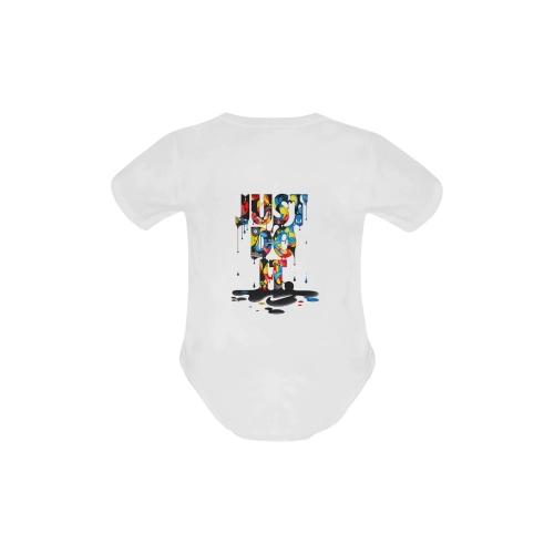 Baby Powder Organic Short Sleeve One Piece (Model T28)