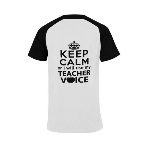 Plus-size Men's Raglan T-shirt (USA Size) (Model T11)