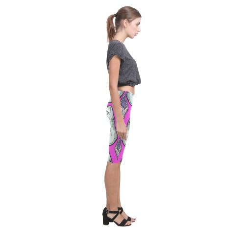 All-Over Cropped Leggings (Model L03)