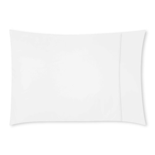 "Rectangle Pillow Case 20""x30""(One Side)(No Zipper)"