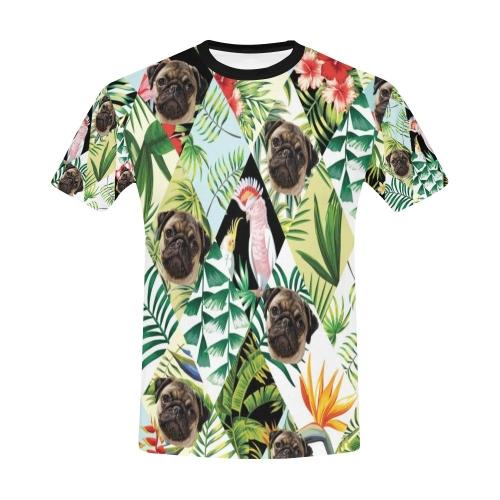Men's All Over Print T-shirt (USA Size) (Model T40)