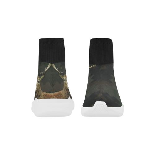 Monoceros Stretch Slipper Sock Men's Shoes (Model039)