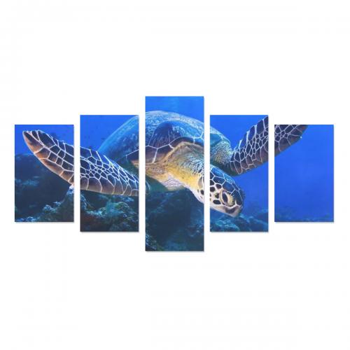 Canvas Wall Art Prints (No Frame) 5-Pieces/Set C