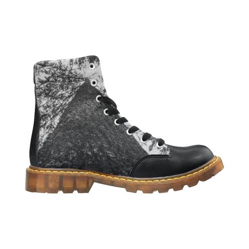 Winter Round Toe Men's Boots (Model 1402)