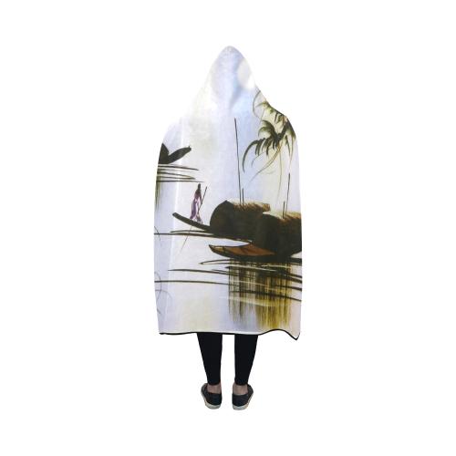 "Hooded Blanket 50""x40"""