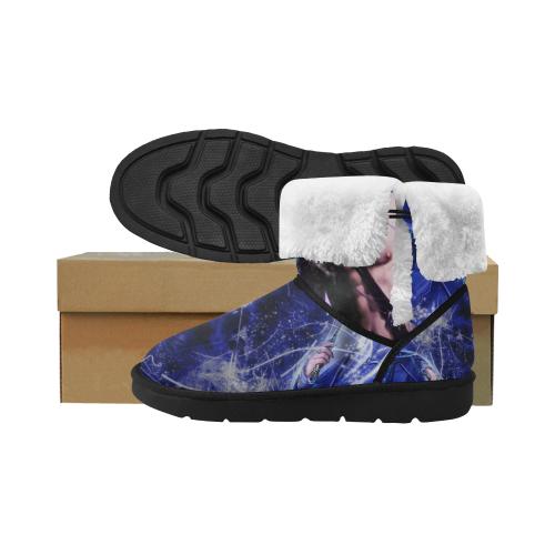 Men's Mid Calf Snow Boots (Model 051)
