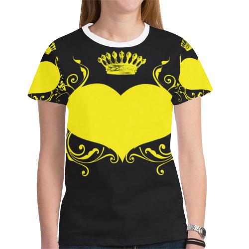 Women's All Over Print Mesh Cloth T-shirt (Model T45)