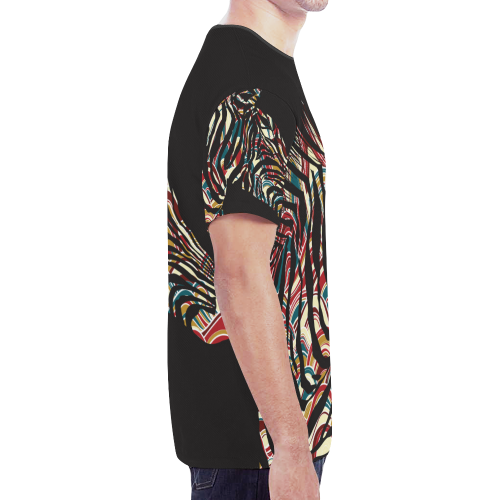 Men's All Over Print Mesh T-shirt (Model T45)