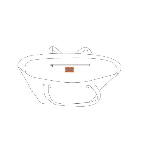 PU Leather Brand Logo On Bags Inner (5cm X 3cm)