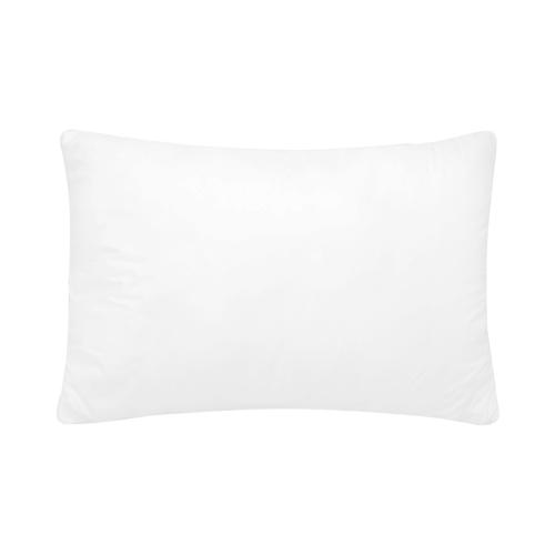 "Rectangle Pillow Case 20"" x 30""(One Side)(No Zipper)(Set of 2)"
