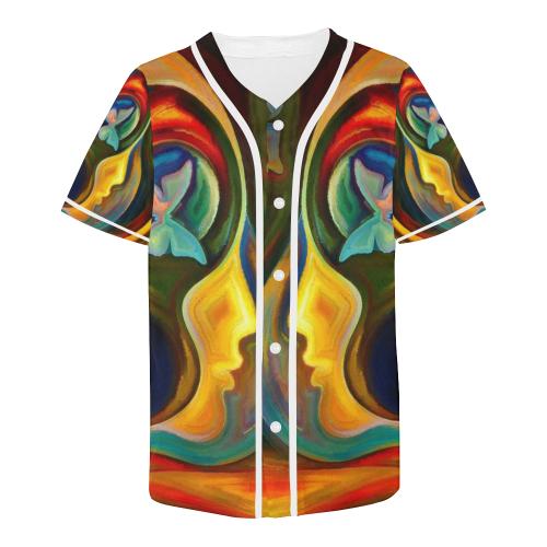Men's All Over Print Baseball Jersey (T50)