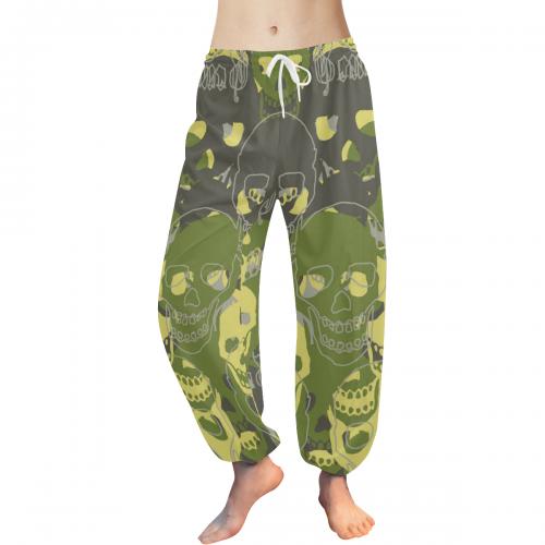 Women's All Over Print Harem Pants (Model L18)