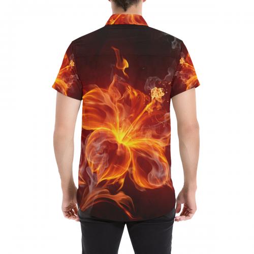 Men's All Over Print Shirt (Model T53)