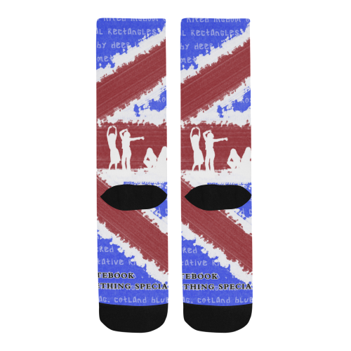 Sublimated Crew Socks (Made In USA)