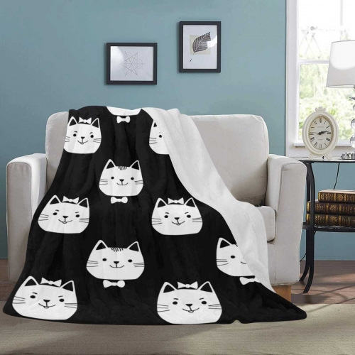"Ultra-Soft Micro Fleece Blanket 60"" x 80"""