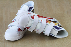 Velcro High Top Canvas Kid's Shoes (Model 015)