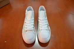 Aquila High Top Canvas Kid's Shoes (Big Kid) (Model 017)